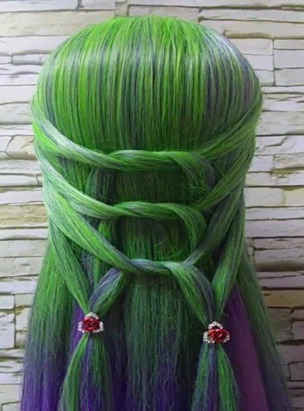 Penteados exóticos para cabelos longos, super diferentes e ousados!