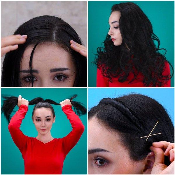Penteados fáceis para fazer no dia a dia, se curtir, compartilhe!