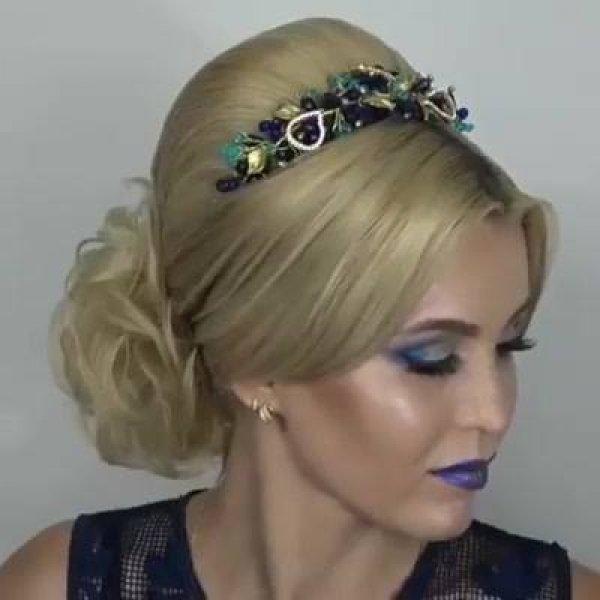 Tutorial de penteado para você fazer em suas clientes, veja que perfeição!!!