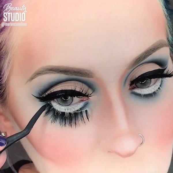 Vídeo com inspiração de maquiagem para o Dia das bruxas, confira!!!