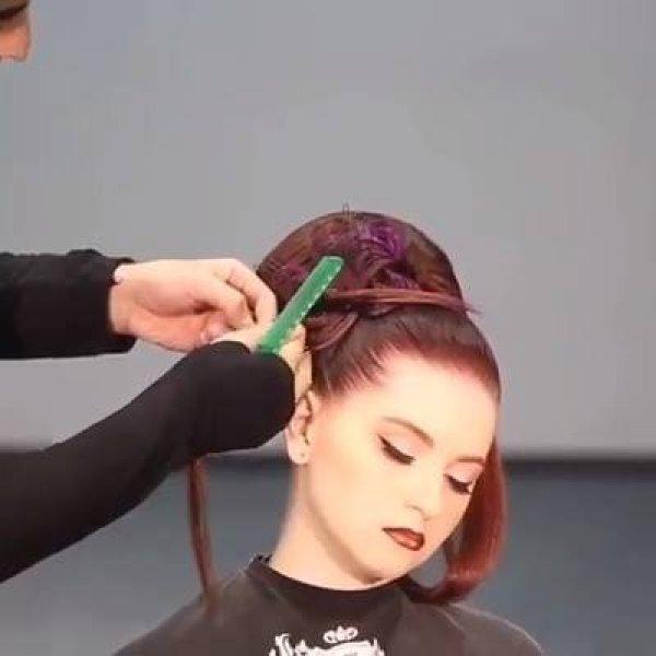 Vídeo com penteados que são verdadeiras obras de arte, confira!!!