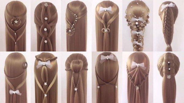 Vídeo com tutoriais de penteados para você fazer em suas clientes!!!