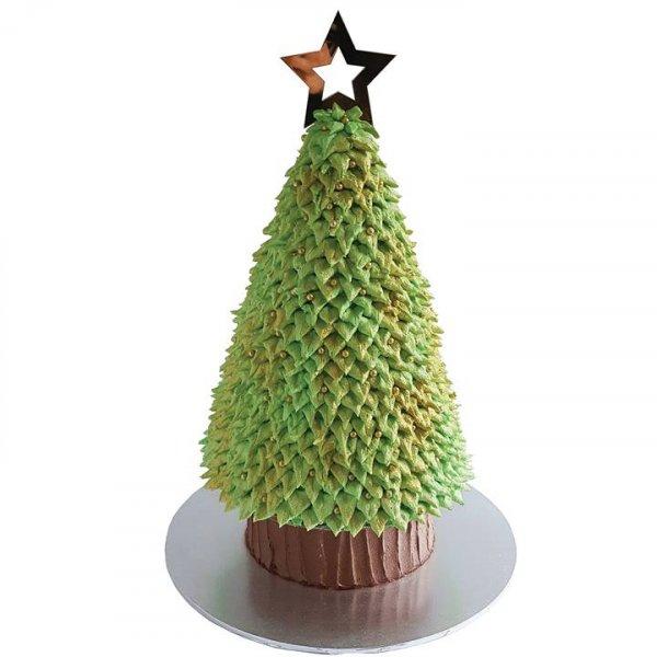 Bolo Arvore de Natal, mais uma ideia que precisa aprender!