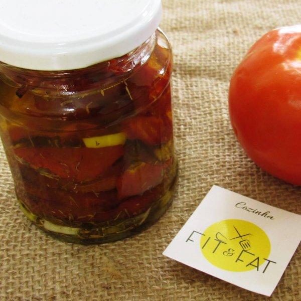 Como fazer tomate em conserva, fica uma delicia, surpreenda!