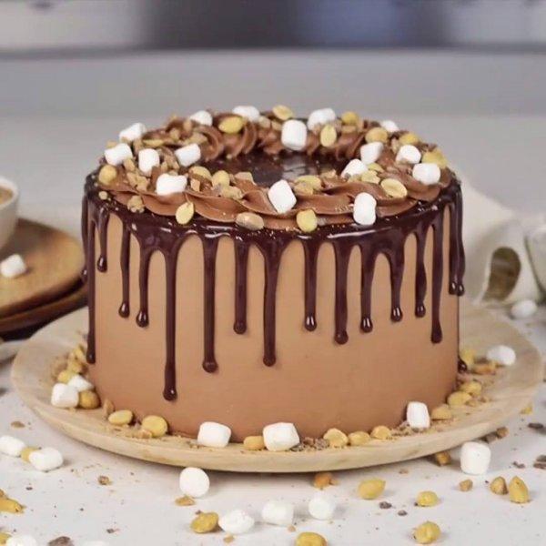 Ideias de bolos redondos decorados, mais um video com muita criatividade!