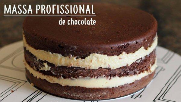Massa Especial para bolo de aniversário, simples e super fácil!