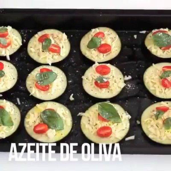 Mini Pizza de Berinjela - Essa ideia vai conquistar você!