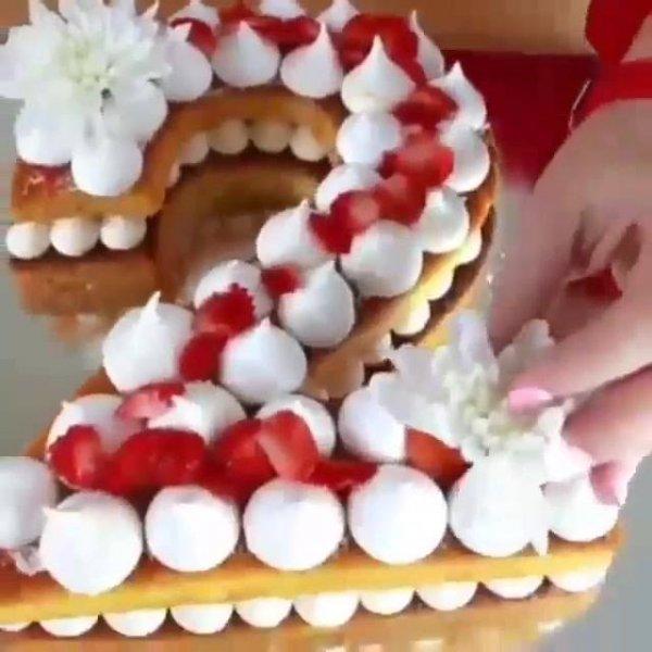Number Cakes, uma nova ideia que vem surgindo no mundo dos bolos!