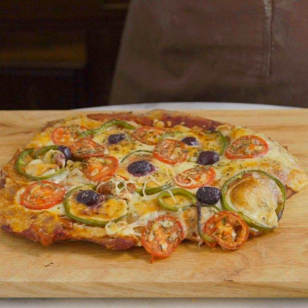 Pizza de Matambre Bovino, será que dá certo ou super certo? Confira!