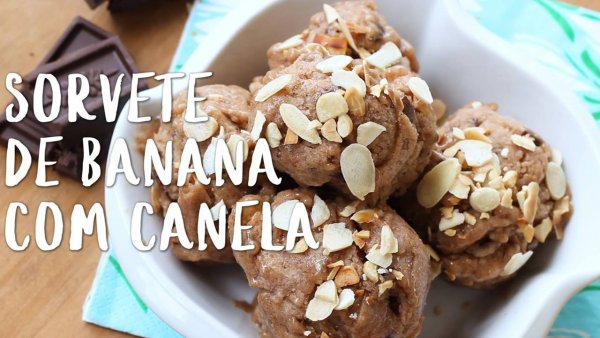 Receita de banana com canela, uma maravilha para o fim de semana!!!
