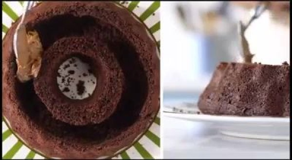 Receita de bolo bomba de chocolate, uma maravilha de bolo!