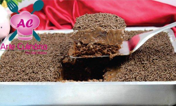 Receita de bolo de brigadeiro de liquidificador, uma sobremesa perfeita!
