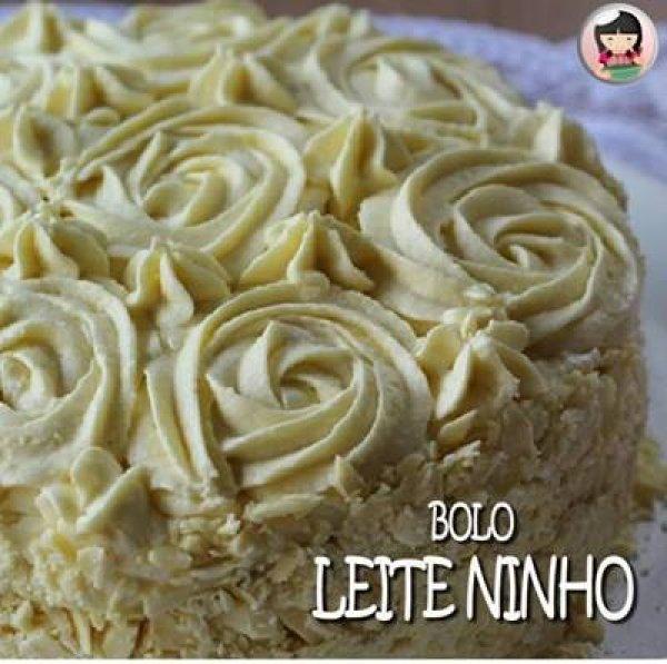 Receita de Bolo de Leite Ninho, super fácil e maravilhoso!