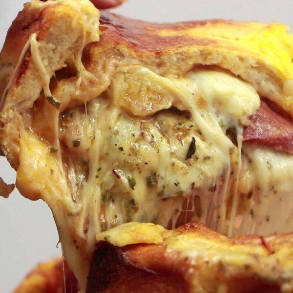 Receita de Bolo de Pizza - Uma delicia de opção para fazer para sua família!
