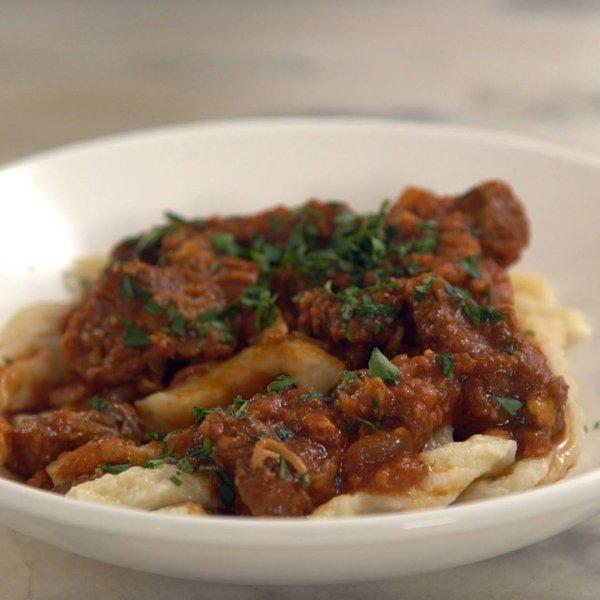 Receita de Goulash com Spaetzie, um prato típico da Europa!!!