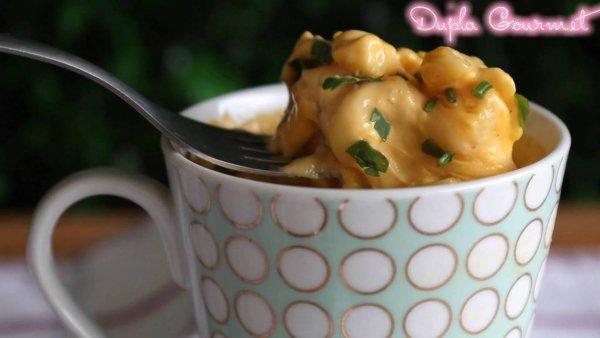 Receita de macarrão com queijo de 3 minutos, fácil de fazer uma delicia de comer