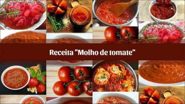 Receita de molho de tomate, o melhor molho caseiro que você já viu!