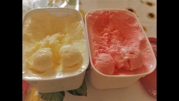 Receita de sorvete de gelatina, fica uma delicia e é bem fácil de fazer!