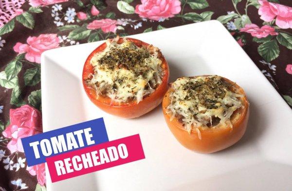 Receita de tomates recheados, olha só que delicia de receita!!!