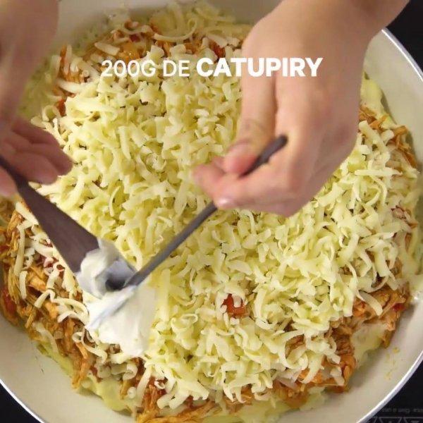 Receita de torta de frango com catupiry, olha só que maravilha de receita!!!