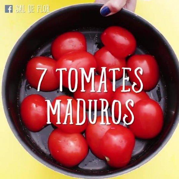 Tomates de Microondas, que delicia de receita, confira!